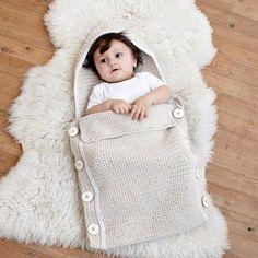 Crocheted Bunting Bag
