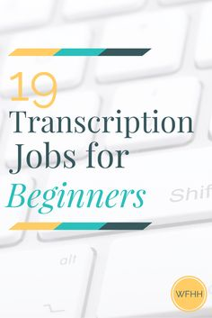 Ready to try your hand at work from home transcription? Here's 19 companies that will pay you to type from home -- even if you have no transcription experience. Transcription Jobs For Beginners, Transcription Jobs From Home, Earn Money From Home, Way To Make Money, Make Money Online, Work From Home Jobs, Typing Jobs From Home, Online Jobs, Extra Money