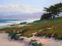 Kim Lordier - Work Zoom: A Fine Day in Pacific Grove