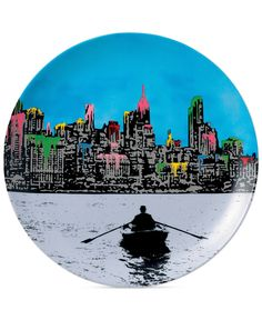 Royal Doulton Street Art Plate by Nick Walker - Serveware - Dining & Entertaining - Macy's