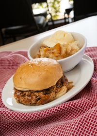 Classic Comfort   Chopped Beef Sandwich from Crazy Larry's Fine Texas Bar-B-Que