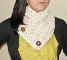 Crochet Neck Warmer/Scarf | etsy