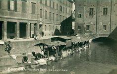 Lavatoio sul Canale Reno, vicino a Ponte Lame