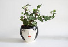 Agnes - ceramic vase - hand-built vase by kinska