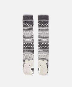 Polar bear socks - OYSHO