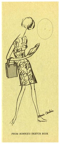 bonnie cashin sketch sportwear pinterest bonnie cashin tennis dress and swimsuit cover