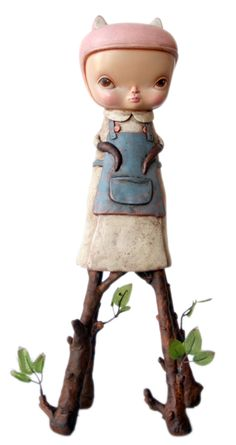 Kathie Olivas - The Collector 飛騨高山 留之助商店 本店 都会的な意匠家による玩具