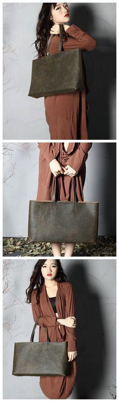 WOMEN TOTE, SHOPPING BAG, WOMEN FASHION, COOL BAG, SHOULDER BAG, CUSTOM ORDER, LEATHER DESIGN, LAPTOP BAG, LARGE BAG, LEATHER GOODS