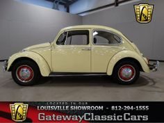 1966 Volkswagen Beetle located in the Louisville showroom for more information and a HD Video visit our webpage.  http://www.gatewayclassiccars.com/displaycar?stock=691&location=LOU