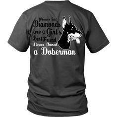 Doberman'- A Girl's Best Friend - Back Doberman Love, Doberman Funny, New Puppy, Puppy Love, Girls Best Friend, Best Friends, Doberman Pinscher Dog, Most Beautiful Dogs, Lap Dogs