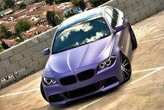 fullthrottleauto:    BMW F10 Purple Matte (KVK Photography)