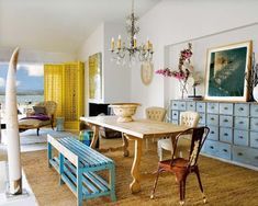 Eclectic Spanish house