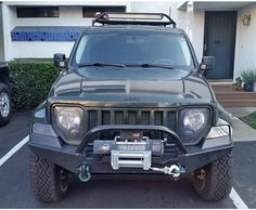 Jeep Liberty Lifted, Jeep Liberty Sport, Jeep Mods, Bull Bar, Jeep Stuff, Jeep Cherokee, Jeep Life, Lovely Things, Jeeps