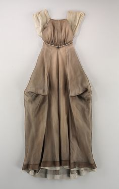 Evening dress Charles James  Date: 1944 Culture: American Medium: silk, cotton Accession Number: 2009.300.2743