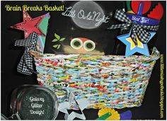 Little Miss Hypothesis - Lessons from the Science Lab. Star Gazing Basket.