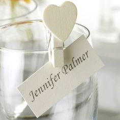 place card holders - an idea instead of the wine corks