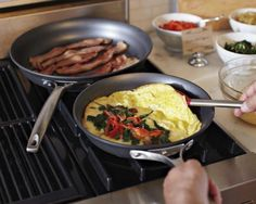 Brunch 101: How to Make a Classic Omelet - because I can NEVER get this right.