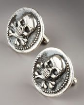 CuffLinks - one possibility for my groom on his tux for our big day