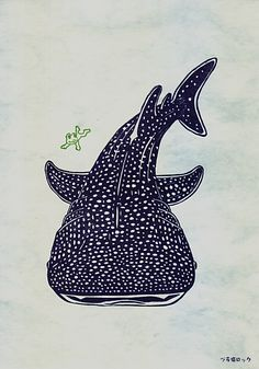 whale shark illustration - Google Search