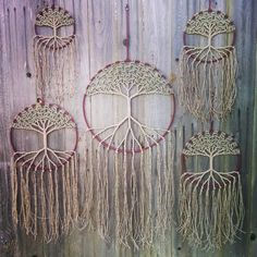 $60-$120. All natural hemp with glass beads. Www.etsy.com/shop/evergreenbohemian #hemp #cannabis #macrame #suncatcher #dreamcatcher #treeoflife #art #walldecor #wallhanging #hippie #bohemian #pnw #etsy #etsyfind #instagood #photooftheday