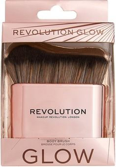 The Makeup Revolution Body Brush is perfectly shaped, with dense soft bristles to buff and blend into every contour of your body. Use with Revolution Molten Body Glow. Makeup Revolution, Glow, Body Brushing, Makeup Brushes, Eyeshadow, Beauty, The Body, Eye Shadow, Beleza