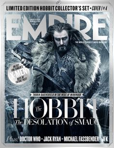 Cover 1 of the Limited Edition Hobbit Collector of Empire Magazine