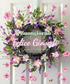 Floral Wreath, Wreaths, Decor, Cards, Bom Dia, Spring, Floral Crown, Decoration, Door Wreaths