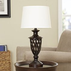 Gisele Gold Wash Lattice Column Table Lamp Set of 2 ...