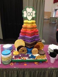AWESOME Bridging Cake!...Or Cookie Kickoff...Hmm...