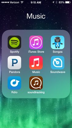 I've played around with some applications in the iTunes store that help me find or share new music that I really like. Organize Phone Apps, Study Apps, Good Photo Editing Apps, Iphone App Layout, Apps For Teens, Life Hacks For School, Music App, Useful Life Hacks, Life App