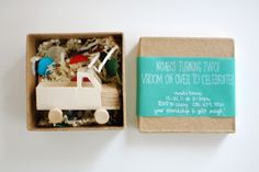 Wooden Truck Party Invitations!!