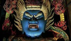 Passing by Kinpusenji Nara prefecture Gautama Buddha, Buddhist Art, Spiritual Practices, Chinese Antiques, Nara, Buddhism, Religion, Lion Sculpture, Statue