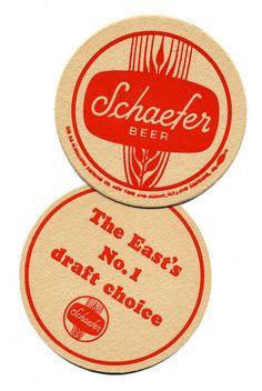 Schafer beer coaster