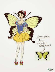 Varietats: Disney Butterfles by Doro