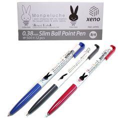 Staples XENO Retractable Ballpoint Pen Writing Sample