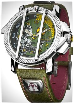 Vamers - SUATMM - Star Wars Collector's Watches - It Is Time to Use the Force - Boba Fett Time Piece