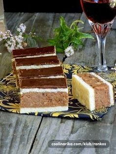 Desserts With Biscuits, Cookie Desserts, Baking Recipes, Cake Recipes, Dessert Recipes, Croatian Recipes, Keto Brownies, Home Baking, No Bake Cake