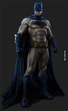 I wanted to see a movie where Batman use the blue cape