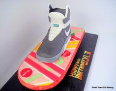 Happy back to the future day! #hoverboard #cake