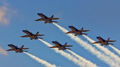 Gorgeous shot of the Blue Angels from #Seafair thanks to our Facebook fan Ryan Patrick Murray. See you guys next year!