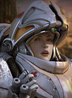 starcraft2 medic  By kimyongsu