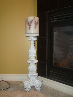 From Lamp to Candle Holder
