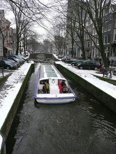 Amsterdam by Kathleen McCracken Seaverns, via Flickr  December, 2010