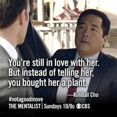 Funny Things To Tell Your Boyfriend Fun 22 Ideas For 2019 Patrick Jane, Series Movies, Movies And Tv Shows, Tv Series, Movie Quotes, Funny Quotes, Tim Kang, Kimball Cho, Funny Baby Pictures