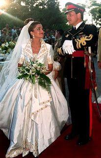Prince Abdullah of Jordan and Rania al Yassin June 10, 1993