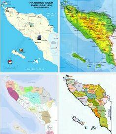 Aceh Map The Republic, Archipelago, Southeast Asia, Tours, Japan, Island, Islands, Japanese