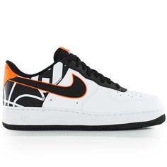 new style c52a8 a1a76 nike AIR FORCE 1 07 LV8 WhiteBlack Nike Air Force, Air Jordans
