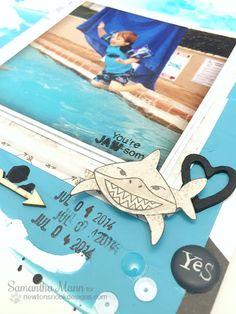 Sam's Scrap Candy: Shark Week with Newton's Nook Designs!
