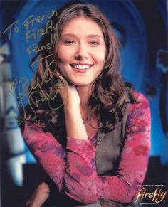 Jewel Staite-Firefly/Kaylee Jewel Staite, Firefly Serenity, Canadian Actresses, Actors & Actresses, Firefly Tv Series, Lynda Carter, Great Books, Science Fiction