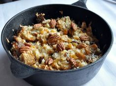 Capirotada (Mexican Bread Pudding with Raisins, Apricots, and Cheese) | Serious Eats : Recipes